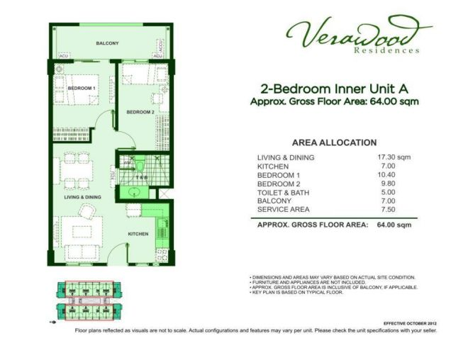DMCI Verawood Residences Taguig Acacia Estates, - 4