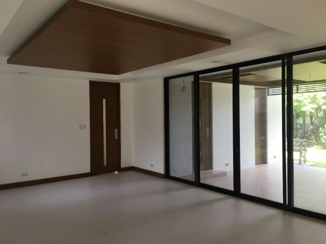 Forbes Park Makati Modern Asian new house for rent - 1