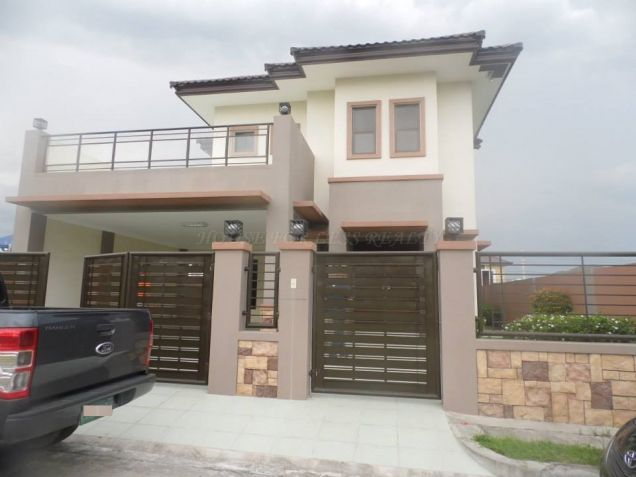Furnished Modern House For Rent In Angeles City - 0