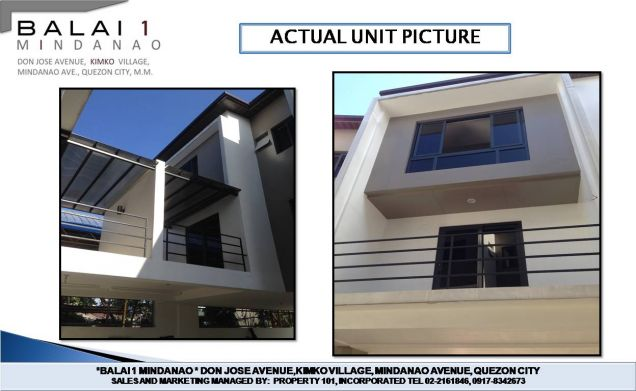 house and lot for sale in balai 1 mindanao unit 6 3 bedrooms