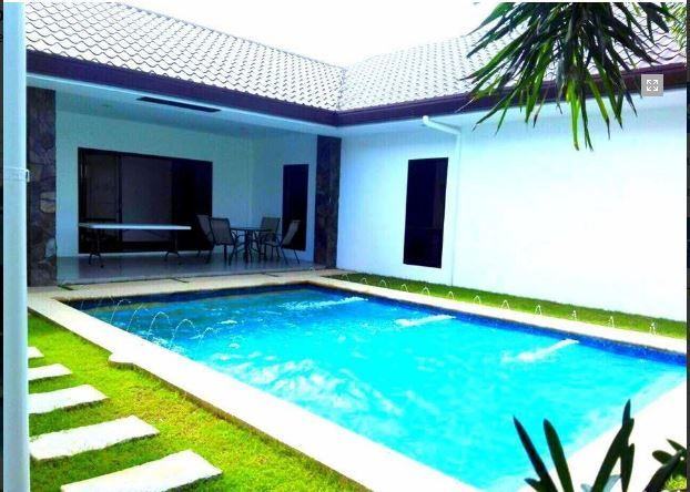 Furnished Bungalow House With Pool For Rent In Angeles City - 0