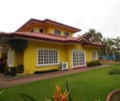 W/Pool & Huge Garden House & Lot For RENT In Dau Mabalacat,Pampanga - 0