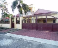 House and lot with yard for rent inside a gated Subdivision in Friendship - 75K - 0