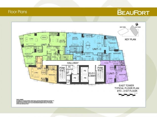 The Beaufort, 3 Bedrooms  for Sale, Fort Bonifacio, Taguig, Maria Victoria Dioso - 6