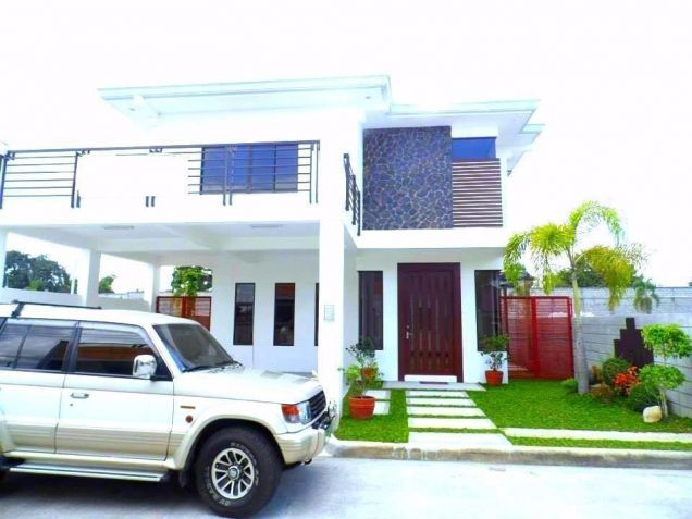 For Rent Furnished Modern House In Angeles City - 0