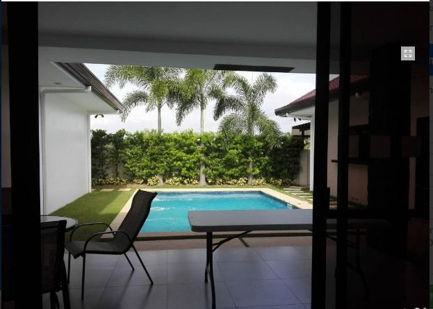 with Swimming Pool Furnished House & Lot For Rent In Hensonville, Angeles City - 3