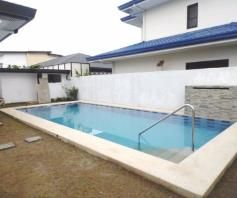 House and lot with Swimming pool for rent in Hensonville - 80K - 1