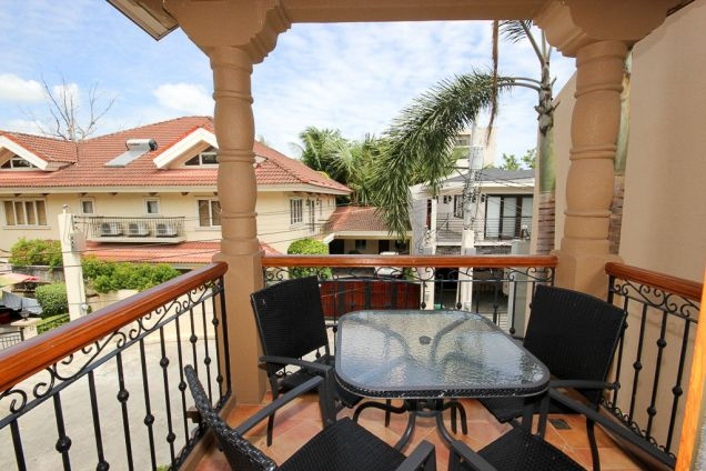 4 Bedroom House for Rent with Swimming Pool in Cebu Banilad - 1