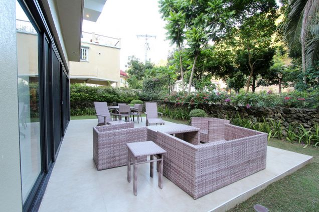 Furnished 3 Bedroom House for Rent in Maria Luisa Estate Park - 5