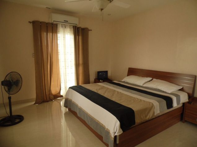 Furnished House and lot for rent inside a secured Subdivision for rent - 70K - 6