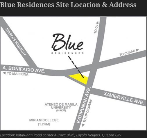 For Rent: Parking Slot #8 Right In Front Of The Elevator Area, Blue Residences, Katipunan, Quezon City - 5