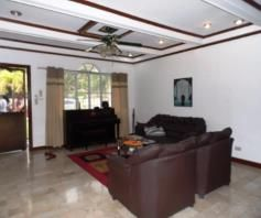 Furnished 3 Bedroom House and Lot with big yard for Rent in Angeles City - 1