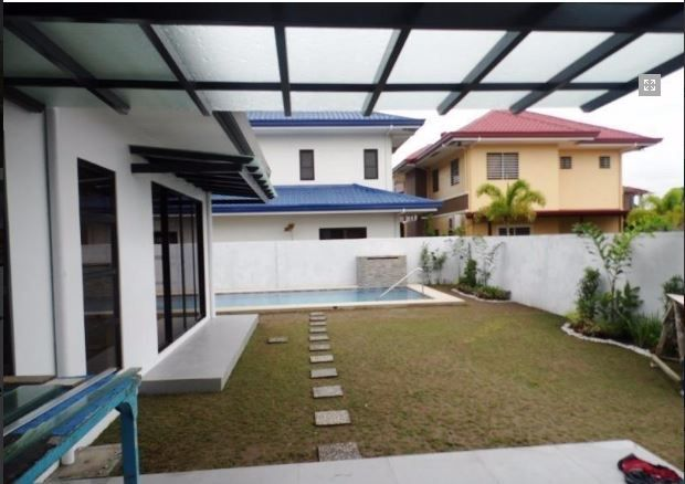 2 Storey House with swimming pool for rent in Hensonville @ 75K - 7