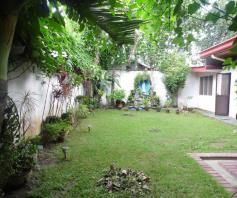 House and lot inside a gated Subdivision in Friendship for rent - 35K - 6