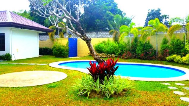 Furnished House With Pool For Rent In Angeles City - 3