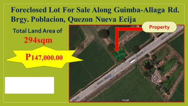 Lot for Sale in Quezon, Nueva Ecija, My Saving Grace Realty & Development Corp - 4