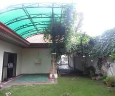 House and lot inside a gated Subdivision in Friendship for rent - 35K - 5
