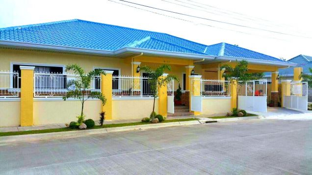New Bungalow House And Lot For Rent In Angeles City - 2