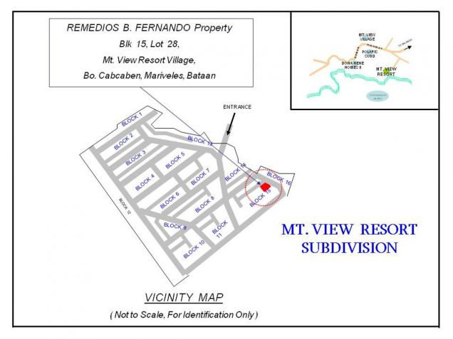 Foreclosed Abandoned Lot for Sale in Cabcaben Mariveles, Code: 1285405 - 2