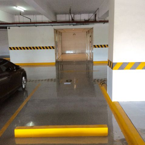 For Rent: Parking Slot #8 Right In Front Of The Elevator Area, Blue Residences, Katipunan, Quezon City - 3