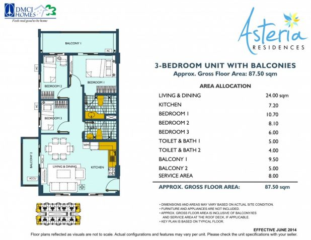 Rent to own Very Affordable 3 bedroom ready for occupancy condo in Paranaque - 9
