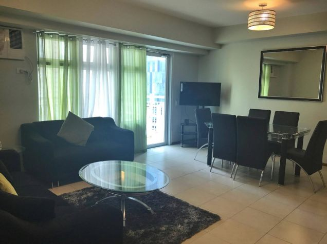 FULLY FURNISHED 2 Bedroom Condo Unit w Parking Lot, Two Serendra, BGC FOR SALE - 0