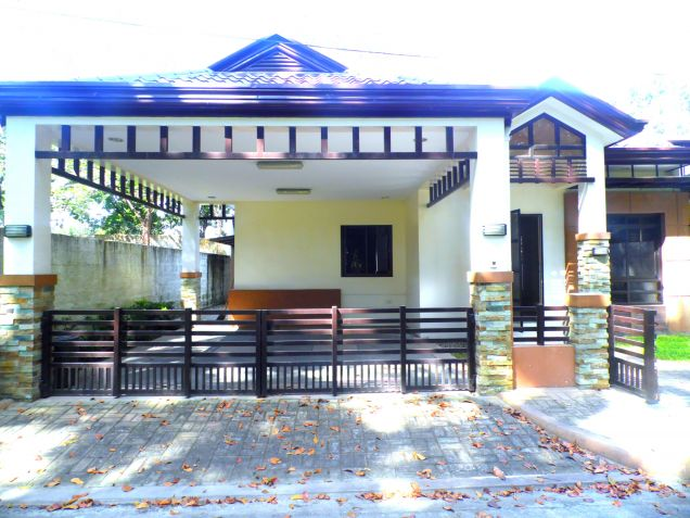 Bungalow House For Rent In Angeles City With 3 Bedrooms - 1