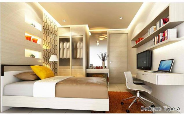 studio unit, own it now condo for sale in kasara pasig - 0