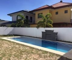 Furnished House with Swimming pool for rent in Hensonville - 80K - 3