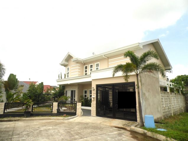 Nice Furnished House For Rent In Angeles City - 0