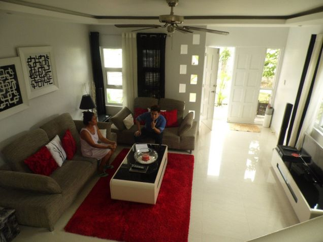 Furnished House and lot for rent inside a secured Subdivision for rent - 70K - 1