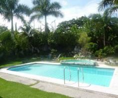 Fully Furnished Elegant House with pool for rent - P150K - 2