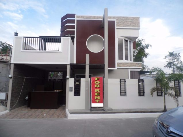 Two Storey Townhouse for rent with 3 bedrooms in Amsic - 0