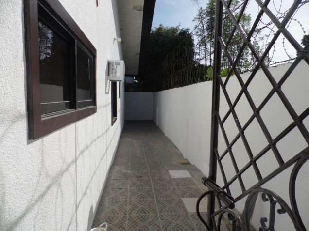 Bungalow house and lot for rent with 3BR in Angeles - 35K - 9