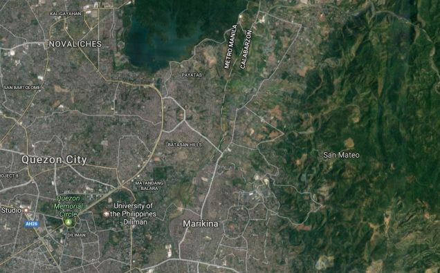 75 ha raw land in San Mateo Rizal near Timberland - 1