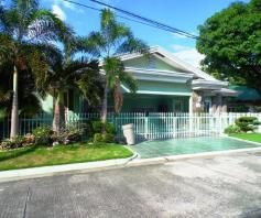 Bungalow House With Big Lot For Rent In Angeles City - 0