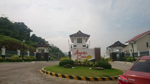 Residential Lot for Sale Amarilyo Crest Taytay Rizal Filinvest nr San Beda Rizal - 2