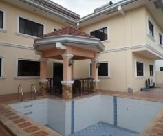 7 Bedroom House and lot with pool for rent - P180K - 1