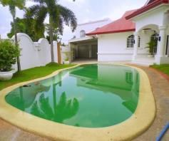 House and Lot for rent with 5BR and Swimming pool - 90K - 5