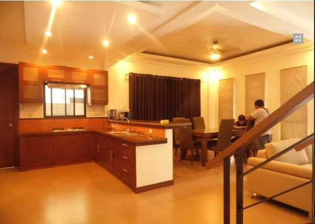 For Rent Fully Furnished House and lot with 4 Bedrooms - 5