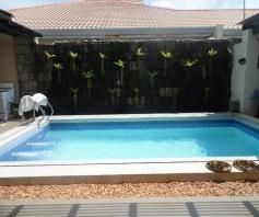 Fully Furnished House with Swimming pool for rent - 90K - 4