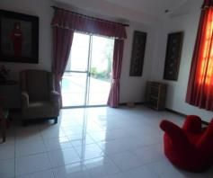 5 Bedroom w/pool house & Lot for RENT in Angeles City - 4