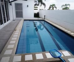 House and lot with Lap pool FOR RENT @110K - 5