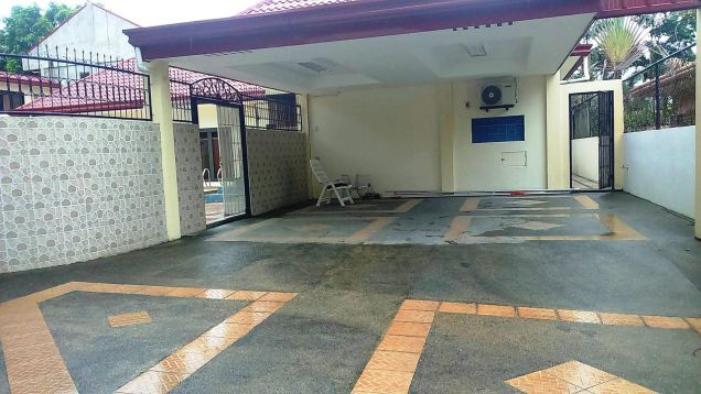 w/pool 1-Storey 4 Bedroom Furnished House & Lot for RENT in friendship Angeles City near to Clark... - 3