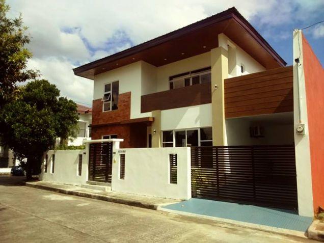 Semi furnished with 3BR house for rent in Telabastagan San Fernando Pampanga - 60K - 1