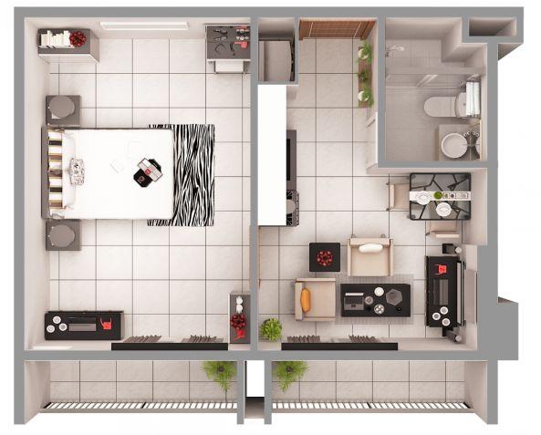 Furnished 1 Bedroom Unit in Cebu City, Le Menda Residences - 7