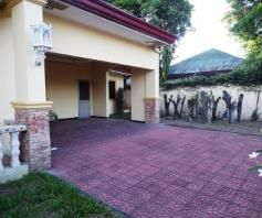 House and lot with yard for rent inside a gated Subdivision in Friendship - 75K - 2
