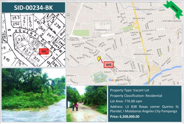 Residential Vacant Lot For Sale in Angeles City, Pampanga - 0