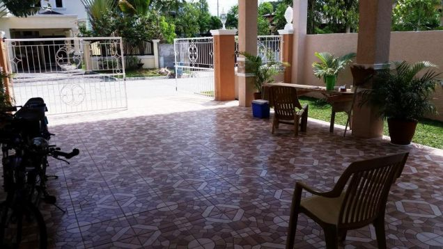 Brandnew house and lot for rent located in friendship - 40K - 6
