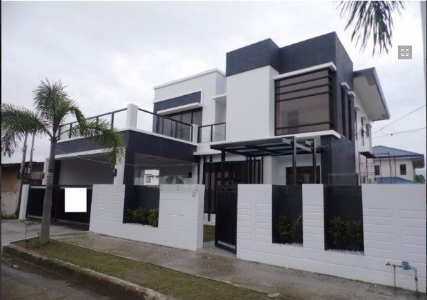 2 Storey House with swimming pool for rent in Hensonville @ 75K - 0